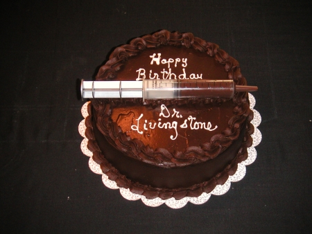 Chocolate by Injection Birthday Cake