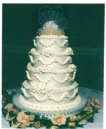 Buttercream Stack Wedding Cake